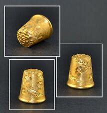 FELIX MOREL GOLD THIMBLE