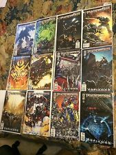 Transformers Revenge Of Fallen Movie Tie-In Low Print Retail Price $48 Lot 12 NM
