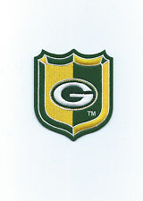Green Bay Packers Shield Patch 3 1/2 inch high x 3 inch wide (Iron or Sew On)