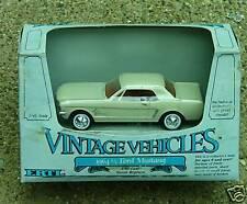1/43-1964 1/2 Mustang-Cream/Red Int-Ertl-1988