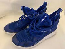 adidas Tubular Blue Hi Tops Trainers Size 8
