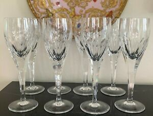 Villeroy and Boch Milano Fluted Champagne Glasses Set of 8