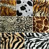 13 DESIGNS Luxury Animal Skin Print Velboa Faux Fur Velour Pony Skin 150cms Wide