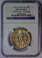 1925 Lexington Silver Commemorative Half Choice NGC UNC Details