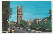 Postcard, PT10296, Magdalen College and Bridge, Oxford