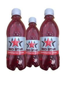 UK Red Star High Caffeine pre workout Drink 330ml x 24 Bottles