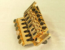 Floyd Rose Lic Tremolo Bridge Double Locking Gold (Bridge Only)