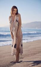 NEW $498 Free People Stuck On You Embellished Beaded Maxi Dress Size XS