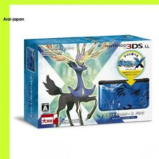Nintendo 3DS LL Console POCKET MONSTER X pack Xerneas and Yveltal Blue Pokemon