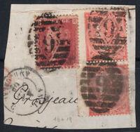 Großbritannien 1858-1862 Mi. 16,19 Gestempelt 80% Queen Victoria