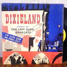 The Left Bank Bearcats LP Somerset RARE Dixieland Jazz deep groove VG+