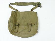 Original US ARMY WW2 Musette Bag M-1936 khaki Kampftasche 1942 mit Tragegurt