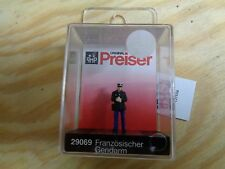 H0 Preiser 29069 Français gendarme. Figure. EMBALLAGE D'ORIGINE