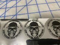 Deplorable amrican infidel sticker SP-23