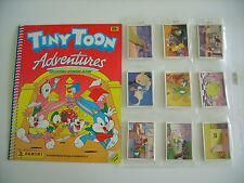 Panini: Tiny Toon Abenteuer: Stickersatz + Leeralbum, toprar von 1991 !!!