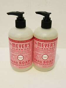 Mrs Meyer's  PEPPERMINT Hand Soap 12.5floz -Seasonal limited edition 2 PACK NEW