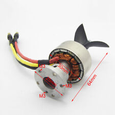 Brushless Motor 4130 Underwater Thruster Propeller for RC Boat Marine Submarine