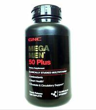 GNC Mega Men 50 Plus Multivitamin, 120 Caplets