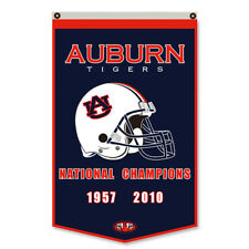 Auburn University Tigers National Champions Man Cave Flag Banner 30x50Inch