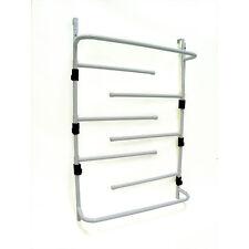 Over Door Clothes Dryer Towel Drying Rack Bathroom with Adjustable Swing Arms