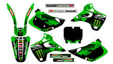 171016 KAWASAKI KX 125 250 1992 1993 DECALS STICKERS GRAPHICS KIT