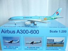 JC Wings 200 Korean Airlines Airbus A300, Jeju, Reg.#HL-7242, 1:200 Scale RARE