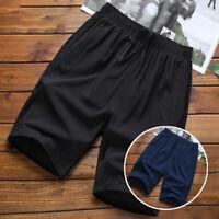 Men Shorts Shorts Plus Size Fashion Gym Thin Casual Training Quick Dry