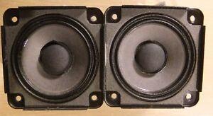 2 X Bose Drivers Loud Speakers Full Range 2.55 inch 4.6 Ohm, 30 Watts RMS