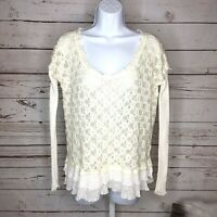 Free People womens sweater size small