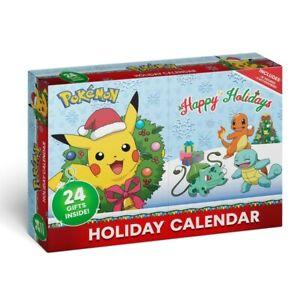 Pokemon Adventskalender inkl. 16 Figuren 5cm  Pikachu Evoli Schiggi