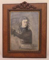 Pierre Eugène Duteurtre Prüfling Bild Zeichnung Signiert Napoleon Porträt BM51