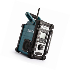 MAKITA DMR107 Baustellenradio Akku-Radio 7,2-18 V mit Netzteil, türkis schwarz