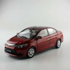 ORIGINAL MODEL 1:18 TOYOTA NEW VIOS 2014,RED