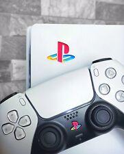 PS5 Sticker PS5 Classic Sticker Vinyl PS5 Console & Controller Bundle Logo HD