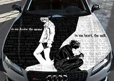 Death Note Ryuk Anime Car Bonnet Wrap Full Color Vinyl Sticker Decal Fit Any Car