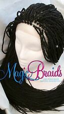 """Hand Braided Lace Front WIG Senegalese long 20"""" to 28"""" long  CIARRA"""