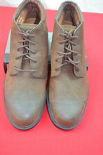 BOSTONIAN STADIUM  BROWN OILED LEATHER BOOTS 10.5M LEATHER UPPER AND LINING BALA