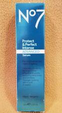 Boots No7 Protect & Perfect Intense Advanced Serum 30ml FREE SHIPPING NEW