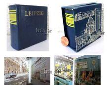 DDR Minibuch Bezirk Leipzig (mit vielen Fotos) East german miniature Book 1983