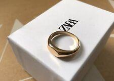 RARE - Brand NEW - High Quality ZARA Man Mens Boxed Metal Zinc Signet Ring