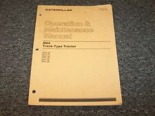 Caterpillar Cat D6H Track Type Dozer Tractor Owner Operator Maintenance Manual