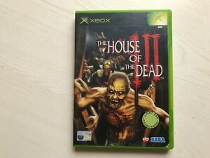 The House Of The Dead III Xbox Game UK PAL USED