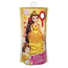 DISNEY Poupée BELLE chevelure de rêve robe jaune accessoires NEUVE