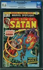 MARVEL SPOTLIGHT #16 CGC 9.6 Son of Satan app!