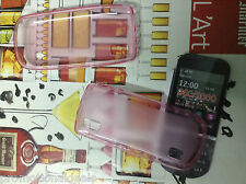 buy2 Clear Bumper Transparent Soft Back cover case For Nokia Asha 300