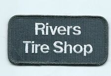 Rivers Tire Shop dealer employee patch 2 X 4 OK