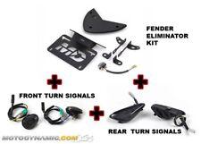 12-14 BMW S1000RR HP4 FRONT + REAR LED Turn Signal Lights + Fender Eliminator