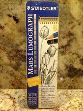 Staedtler Mars Lumograph Writing, Drawing, Sketching Pencil (Box of 6)