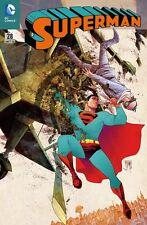 SUPERMAN # 28 VARIANT - DAS NEUE DC-UNIVERSUM - 666 Ex. - COMIC ACTION 2014  TOP