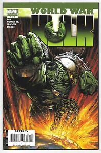 World War Hulk #1 (08/2007) Marvel Comics KEY Issue Planet Sakaar Mini Series